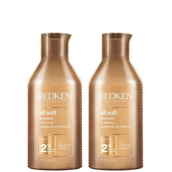 Redken All Soft -shampoosetti (2 x 300ml)
