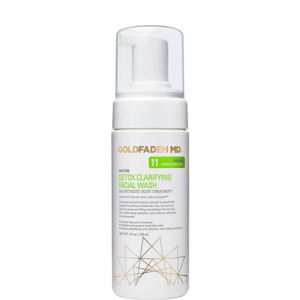 Goldfaden MD Detox Calrifying Facial Wash AHA Nutrient Rich Treatment 120ml
