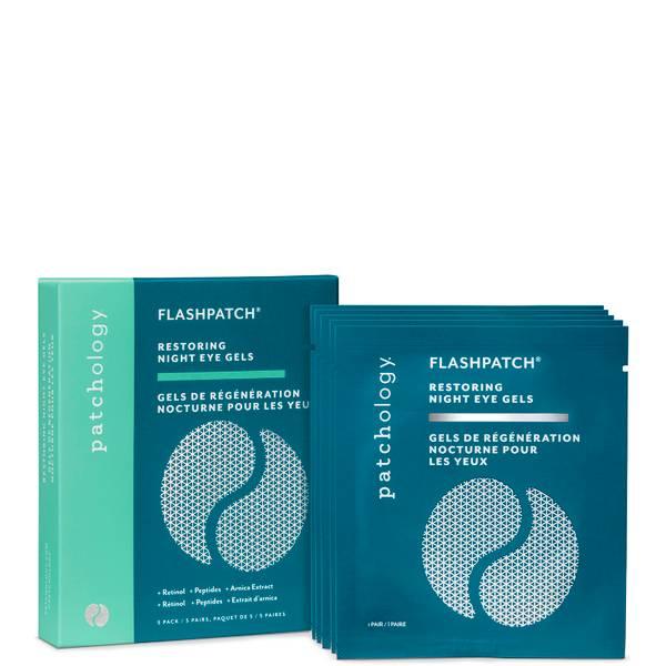 Patchology FlashPatch Restoring Night Eye Gels - 5 Pairs