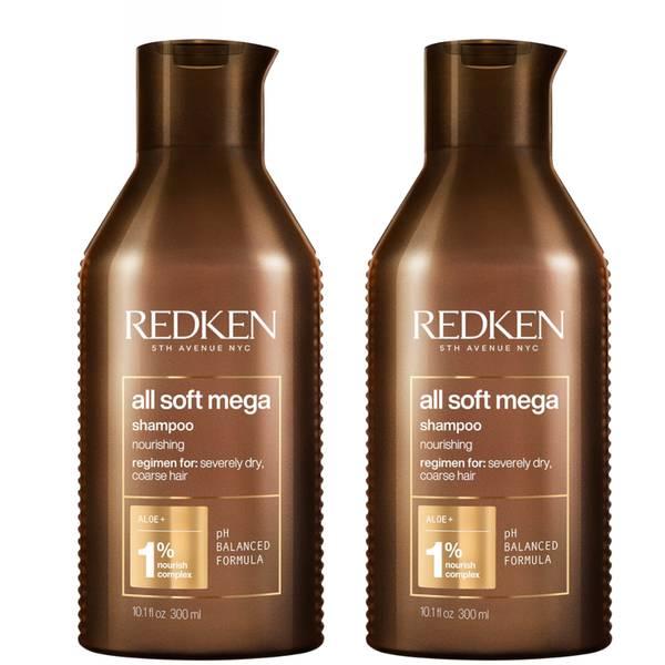Dúo de champús All Soft Mega de Redken (300 ml)