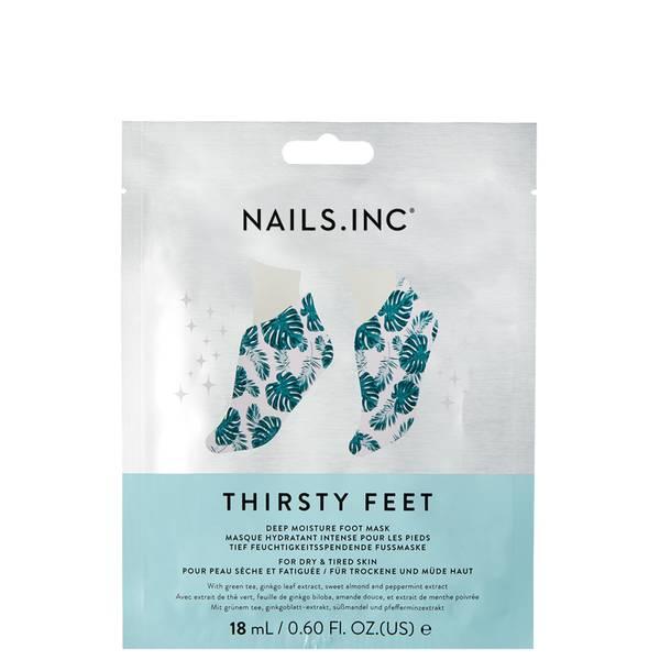 nails inc. Thirsty Feet Super Hydrating Foot Mask 14ml
