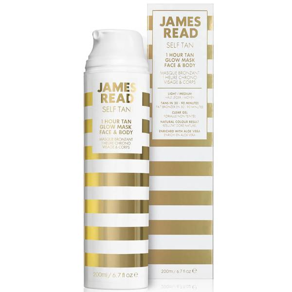 James Read 1 小時臉部身體光彩膜 200ml