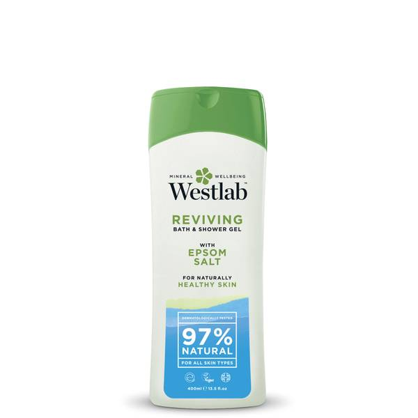 Westlab bagnoschiuma ravvivante con sali minerali puri di Epsom 400 ml