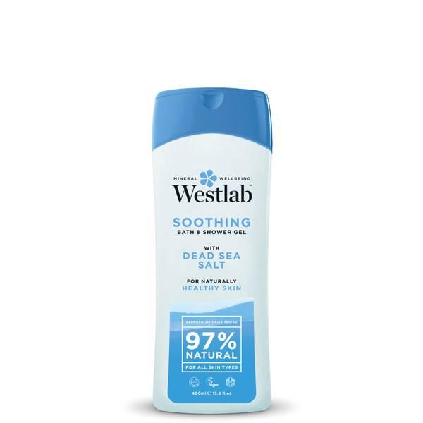 Jabón de ducha relajante con sal del Mar Muerto de Westlab 400 ml