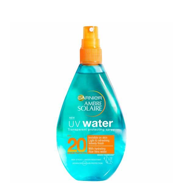 Ambre Solaire UV Water Clear Sun Cream Spray SPF 20 -aurinkosuihke 150ml