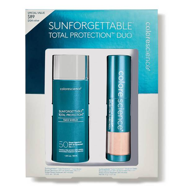 Colorescience Sunforgettable® Total Protection™ Duo Kit SPF 50 - Medium (2 piece)