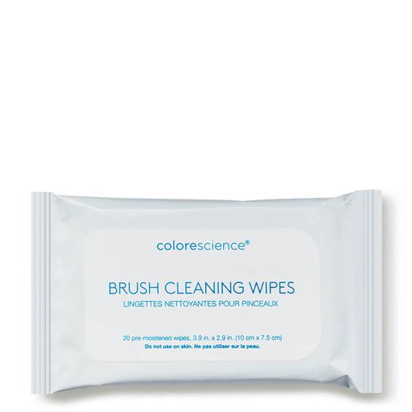 Colorescience Brush Cleaning Wipes (20 count)