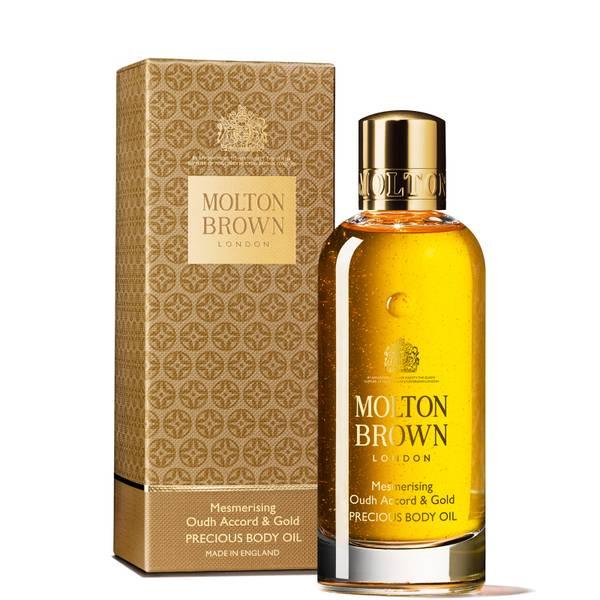 Molton Brown Oudh Accord & Gold Precious Body Oil olejek do ciała