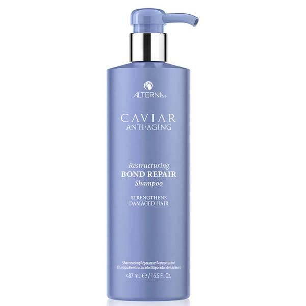 Alterna Caviar Anti-Aging Restructuring Bond Repair Shampoo - 16.5 oz (Worth $66)