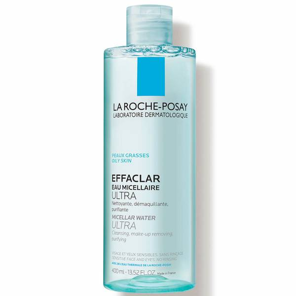 La Roche-Posay Effaclar Micellar Cleansing Water and Makeup Remover for Oily Skin (13.5 fl. oz.)
