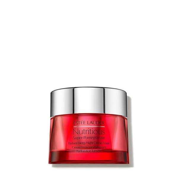Creme de Noite/Máscara Hidratante Energizante Efeito Luminosidade Nutritious Super-Pomegranate da Estée Lauder 50 ml
