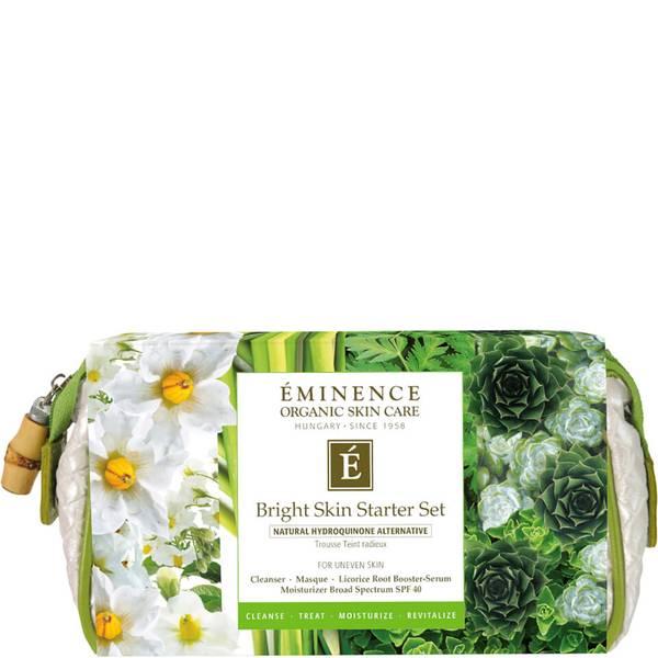 Eminence Organic Skin Care Bright Skin Starter Set 4 piece