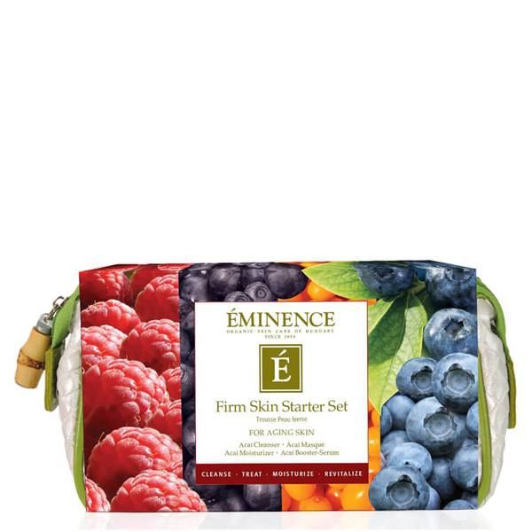 Eminence Organic Skin Care Firm Skin Starter Set 4 piece