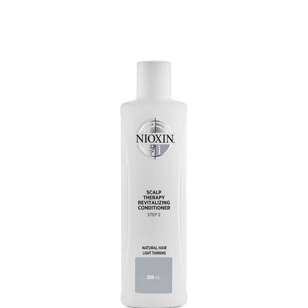 NIOXIN 3-Part System 1 Scalp Therapy Revitalising Conditioner for Natural Hair with Light Thinning 300ml