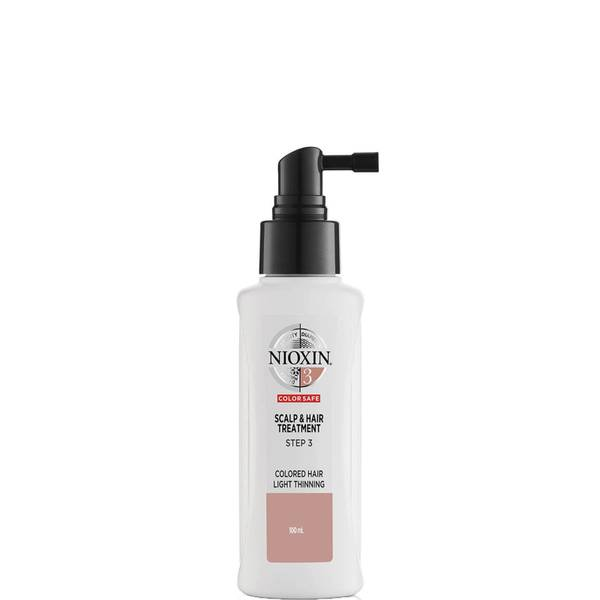 NIOXIN 3-Part System 3 Scalp and Hair Treatment for Coloured Hair with Light Thinning 100ml