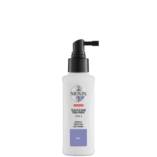 NIOXIN 3-Part System 5 Scalp and Hair Treatment for Chemically Treated Hair with Light Thinning 100ml