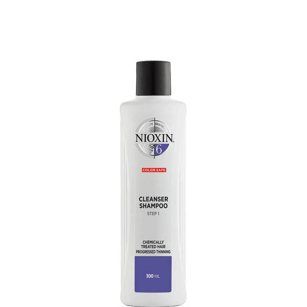 NIOXIN 3-Part System 6 Cleanser Shampoo for Chemically Treated Hair with Progressed Thinning 300ml