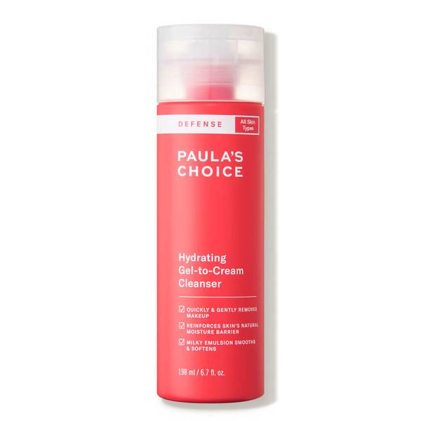 Paula's Choice DEFENSE Hydrating Gel-to-Cream Cleanser (6.7 fl. oz.)