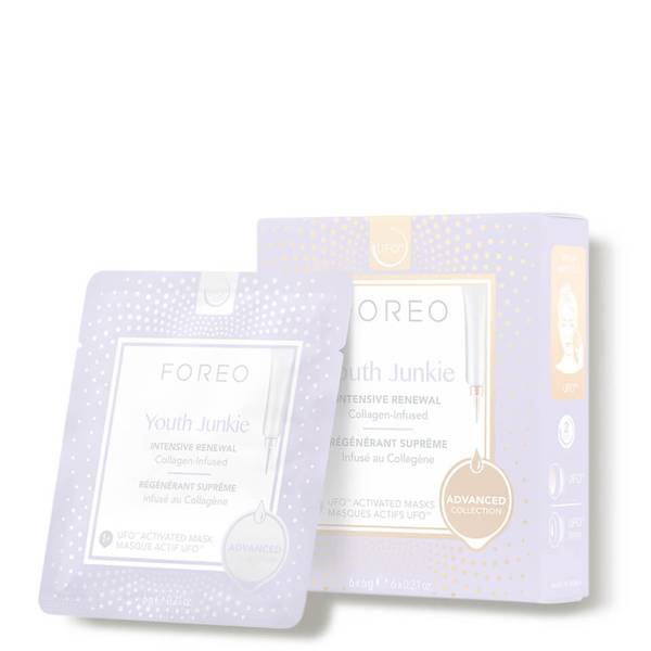 FOREO Youth Junkie UFO/UFO Mini Collagen Face Mask (6 Pack)