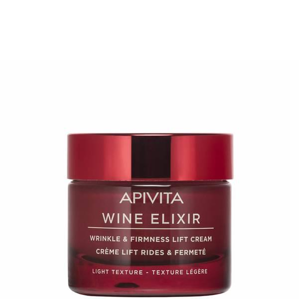 Crema reafirmante y antiarrugas Wine Elixir de APIVITA - Crema ligera 50 ml