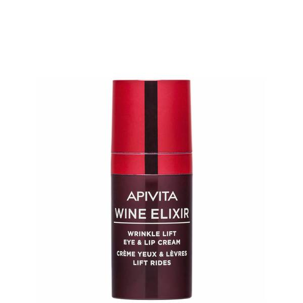 APIVITA Wine Elixir Wrinkle Lift Eye & Lip Cream 15ml