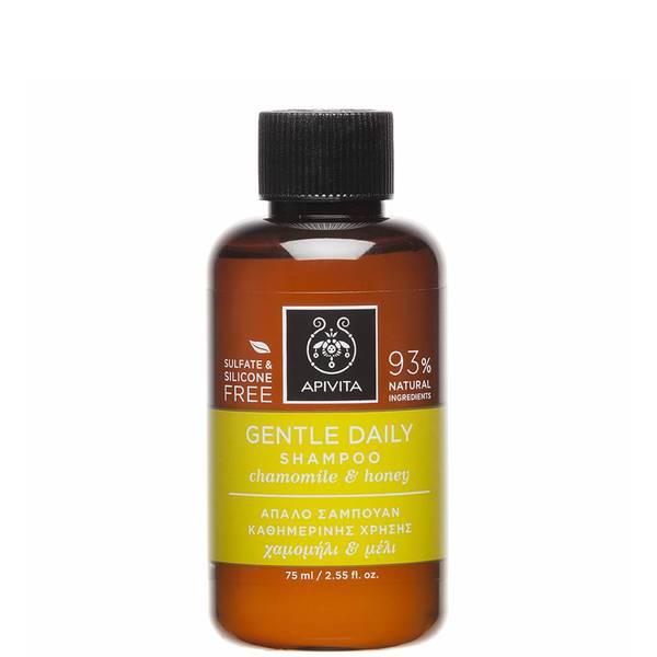 APIVITA Holistic Hair Care Mini Gentle Daily Shampoo - German Chamomile & Honey 75ml