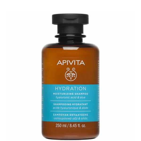 APIVITA Holistic Hair Care Moisturizing Shampoo - Hyaluronic Acid & Aloe 250ml