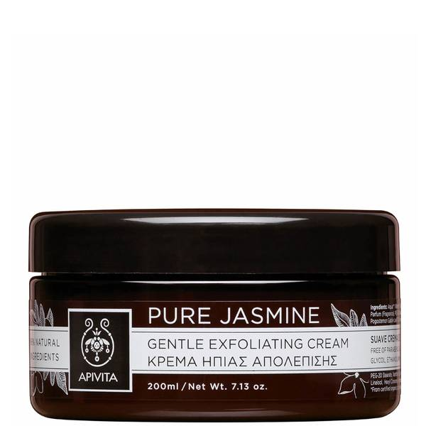 APIVITA Pure Jasmine Gentle Exfoliating Cream -kuorintavoide 200ml