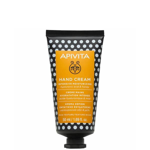 APIVITA Hand Care Intensive Moisturizing Hand Cream - Hyaluronic Acid & Honey 50ml