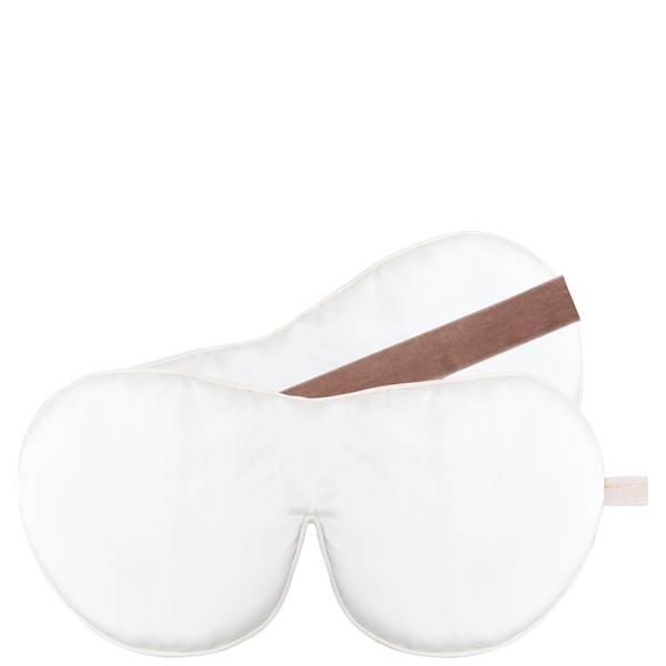 Holistic Silk One Strap Pure Silk Anti-Ageing Eye Mask - White(홀리스틱 실크 원 스트랩 퓨어 실크 안티 에이징 아이 마스크 - 화이트)