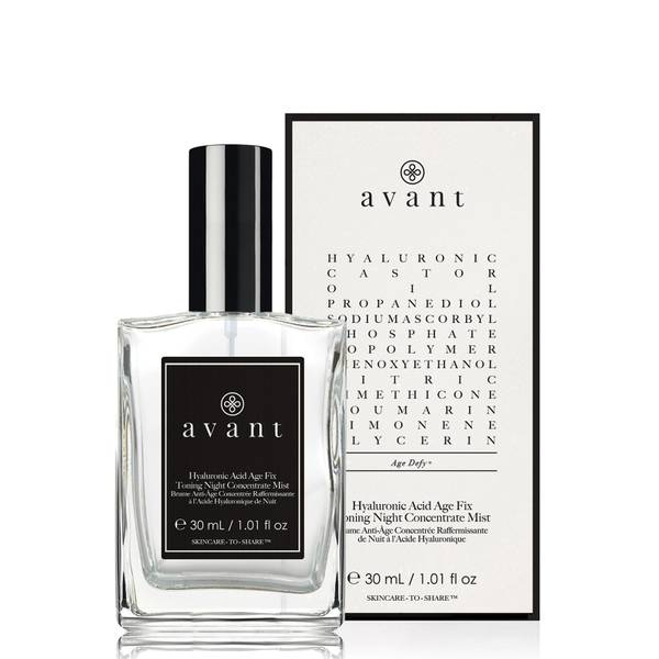 Avant Skincare Hyaluronic Acid Age Fix Toning Night Concentrate Mist 30ml