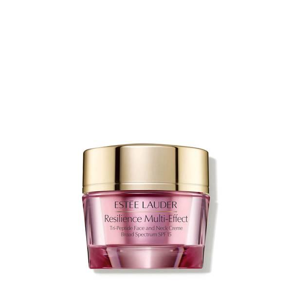Estée Lauder Resilience Multi-Effect Tri-Peptide Face and Neck Crème SPF15 for Dry Skin 50 ml