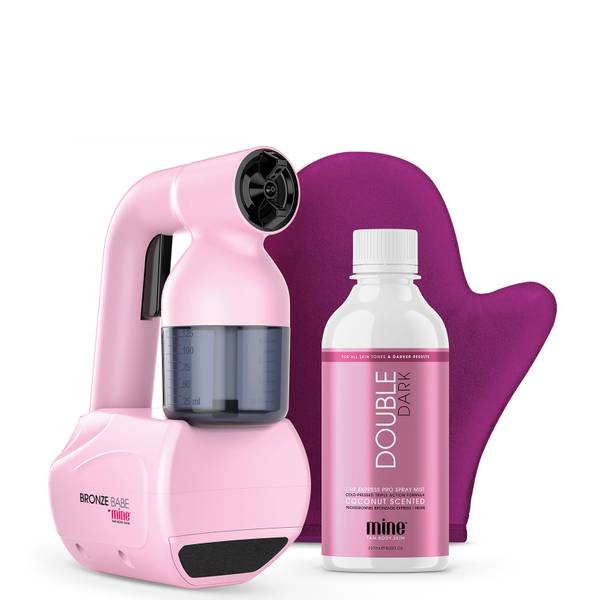 MineTan Bronze Babe Personal Spray Tan Kit - Pink 50ml