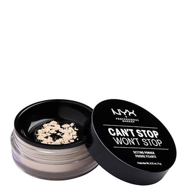 NYX Professional Makeup Can't Stop Won't Stop Setting Powder (Various Shades)