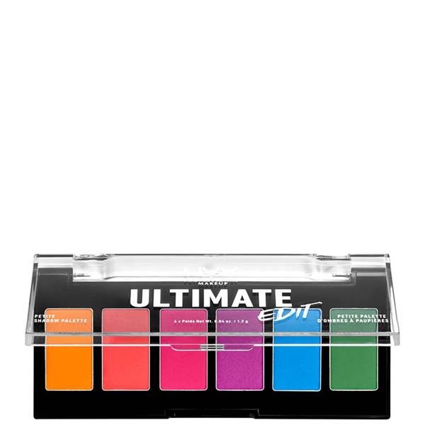 NYX Professional Makeup Ultimate Edit Petite Eye Shadow Palette - Brights
