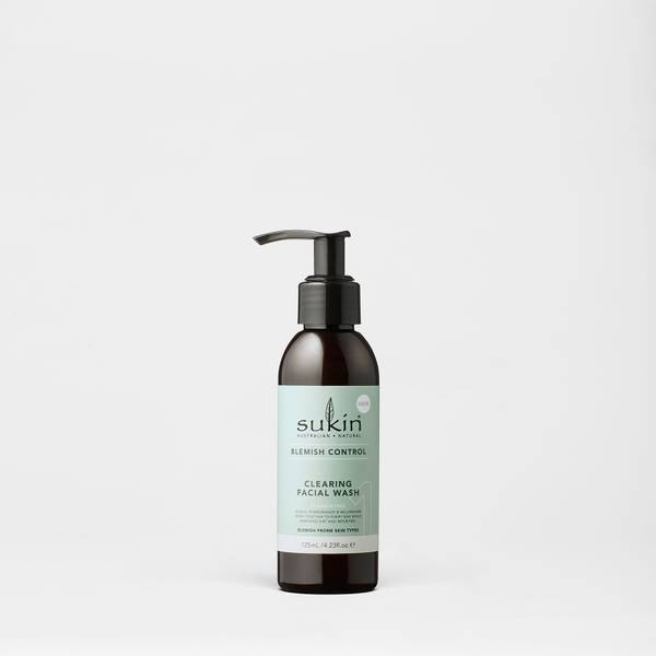 Sukin Blemish Control Clearing Facial Wash 125ml