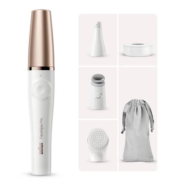 Braun Facespa Pro 911 Facial Epilator - White/Bronze