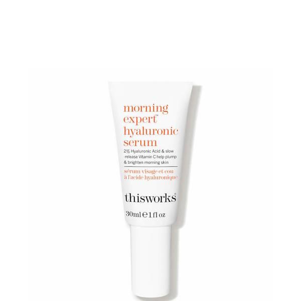 this works morning expert hyaluronic serum (1 fl. oz.)