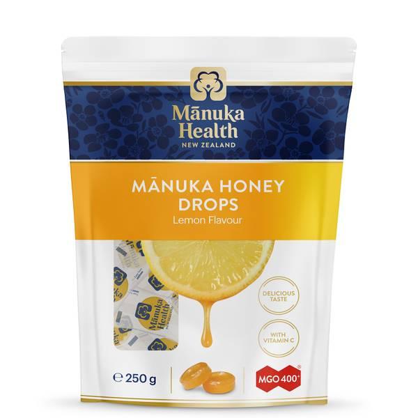 MGO 400+ Manuka Honey Lozenges with Lemon - 58 Lozenges