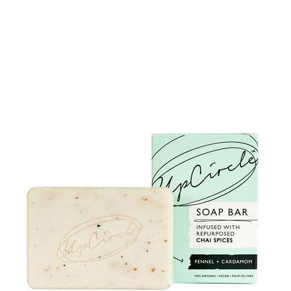 UpCircle Fennel and Cardamom Chai Soap Bar 100g