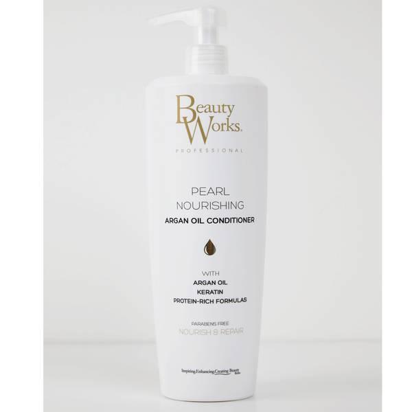 Beauty Works Salon Size Pearl Nourishing Argan Oil Conditioner 1 Litre