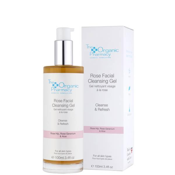 The Organic Pharmacy Rose Facial Cleansing Gel (100 ml.)