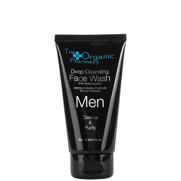 The Organic Pharmacy Men's Deep Cleansing Face Wash 75ml/2.5oz