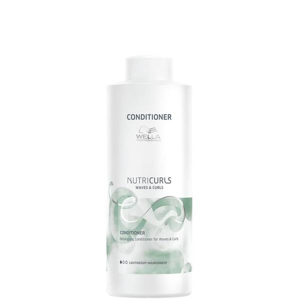 Wella Professionals Nutricurls Detangling Conditioner for Waves and Curls 1000ml