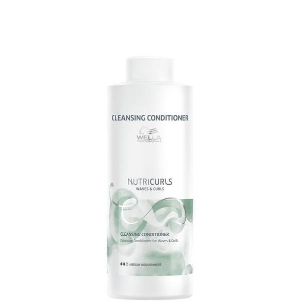 Wella Professionals Nutricurls Cleansing Conditioner for Waves and Curls 1000ml