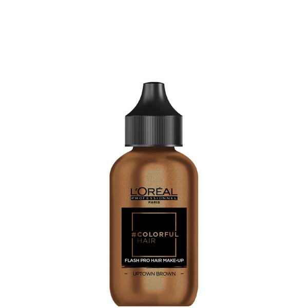 L'Oréal Professionnel Flash Pro Hair Make-Up - Uptown Brown 60ml
