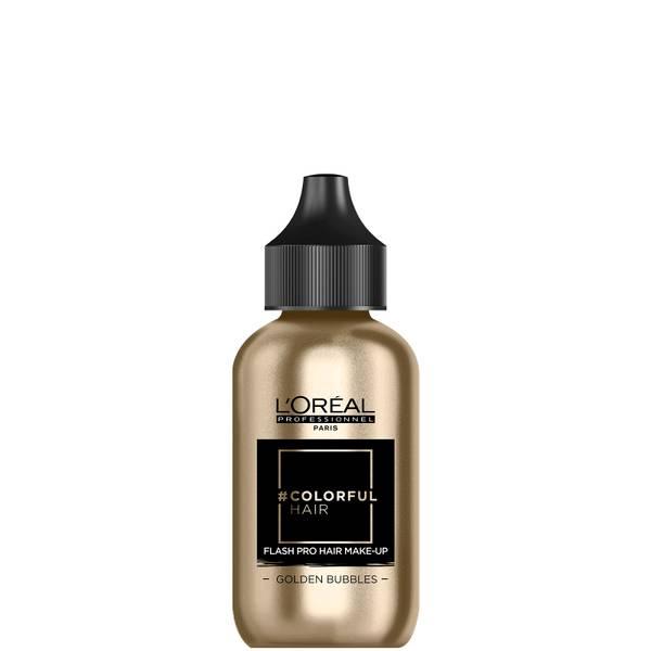 L'Oréal Professionnel Flash Pro Hair Make-Up - Golden Bubbles 60ml