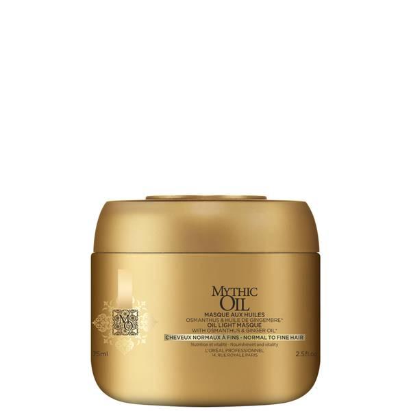 L'Oréal Professionnel Mythic Oil Mask for Normal/Fine Hair 75ml