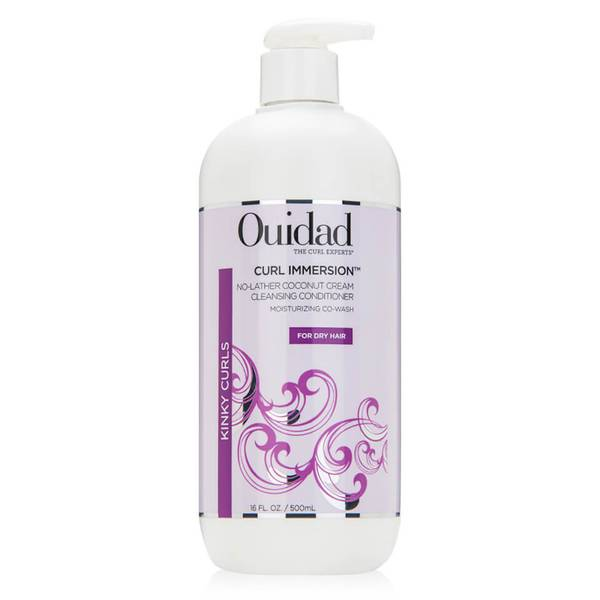 Ouidad Curl Immersion No-Lather Coconut Cleansing Conditioner (16 oz.)