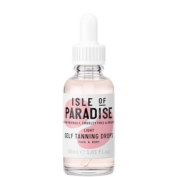 Isle of Paradise Self-Tanning Drops - Light 30ml
